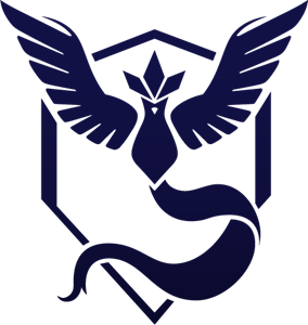 Pokemon GO Team Mystic Logo Vector (.AI) Free Download.