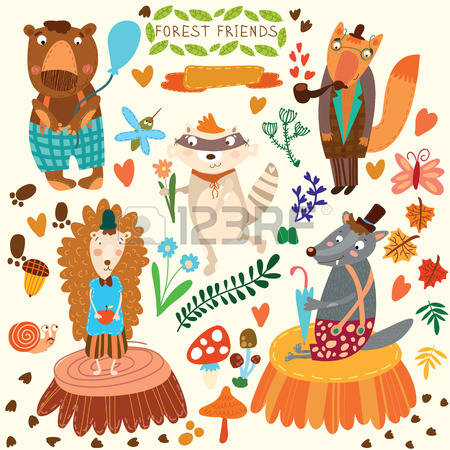 819 Woodland Scene Cliparts, Stock Vector And Royalty Free.