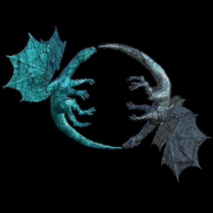 Dragons Logo Mystical.