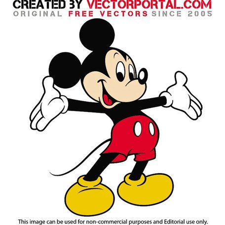 Mickey Mouse Clubhouse Vector.