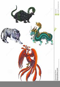 Mythological Creatures Clipart.