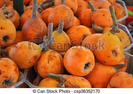 Imágenes de níspero, fruta, común.