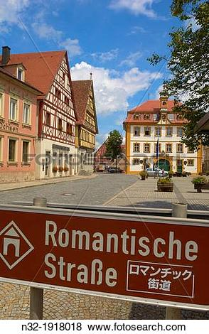 Pictures of Rottingen, Town Hall, Romantische Strasse Romantic.