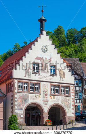 Gabled House Hall Stock Photos, Images, & Pictures.