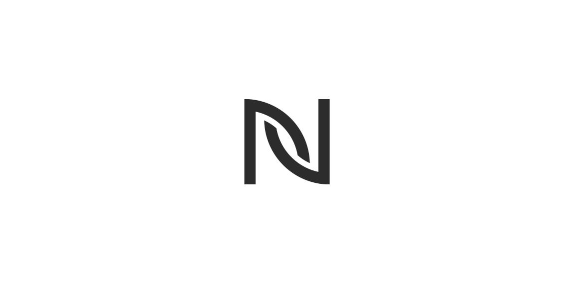 N logo • LogoMoose.