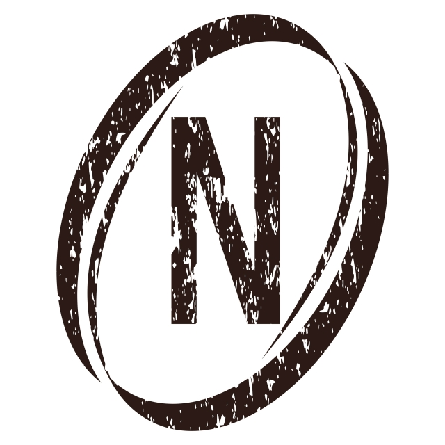 Letter N Rough Logo, Rough, Template, Scattered PNG and.