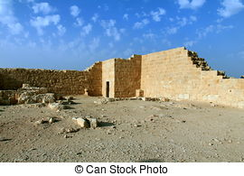 Stock Photos of Ruins of Avdat.