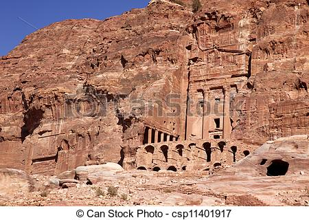 Stock Photography of Petra.