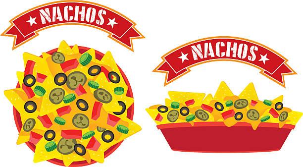 Best Nachos Illustrations, Royalty.
