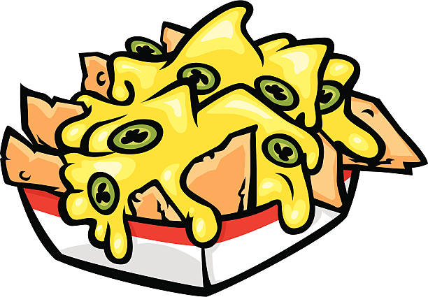 Best Nacho Cheese Illustrations, Royalty.