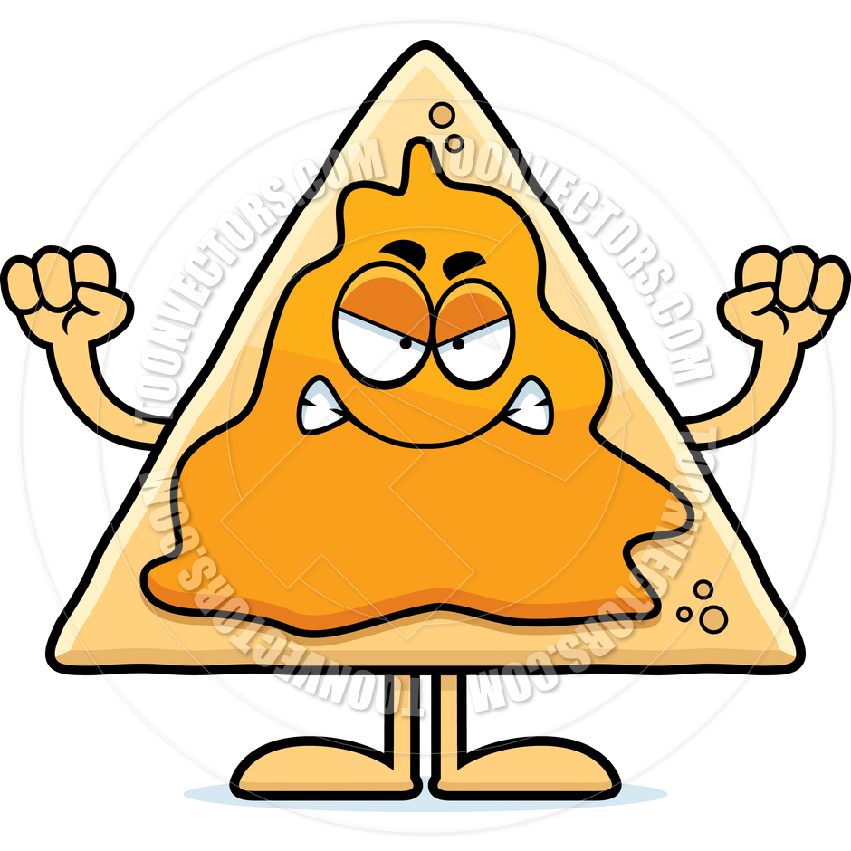 Cartoon Nacho Clipart, Nacho Free Clipart.