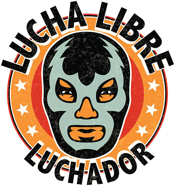 Best Lucha Libre Illustrations, Royalty.