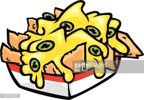 nachos Clipart Image.