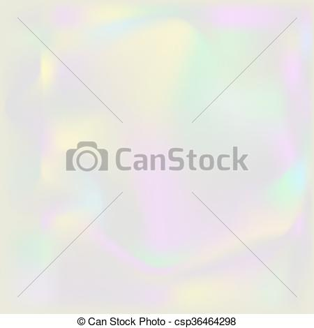 EPS Vectors of Holographic pearl background. Iridescent hologram.