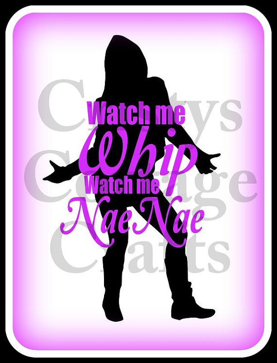 dance svg file whip and nae nae file for by CristysCottageCrafts.