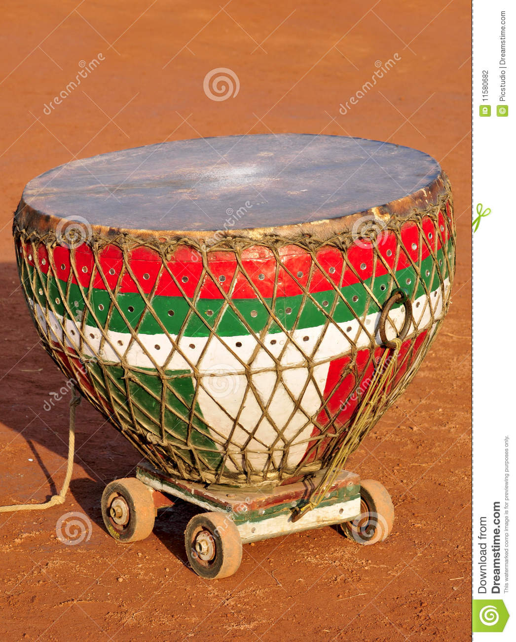 Indian Musical Instrument Stock Photography.