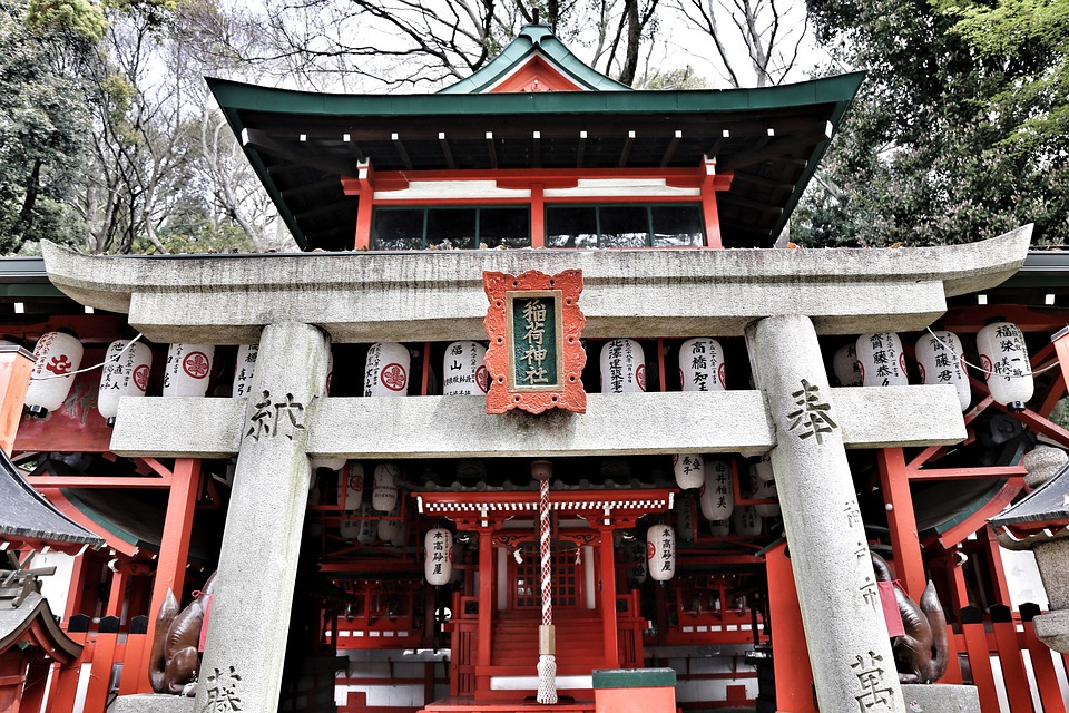 Free photo: Architecture, Shrine, Building.
