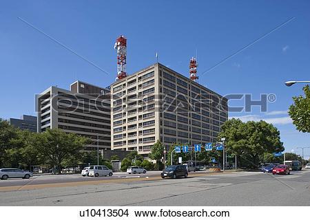 Stock Photo of Nagoya city hall, Nagoya city, Aichi Prefecture.