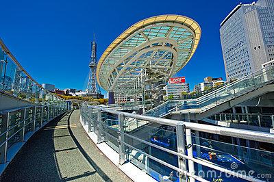 Oasis 21 Nagoya City Editorial Photo.
