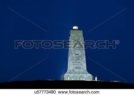 Stock Photography of USA, North Carolina, Nags Head. The Wright.