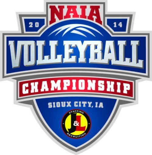 naia volleyball championship logo 2014.