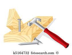 Hammer nail Clip Art Illustrations. 1,649 hammer nail clipart EPS.