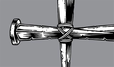Nail Cross Clip Art.