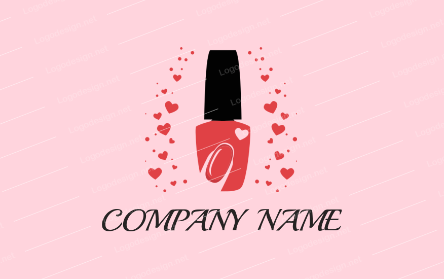 Unique Nail Spa Logos.