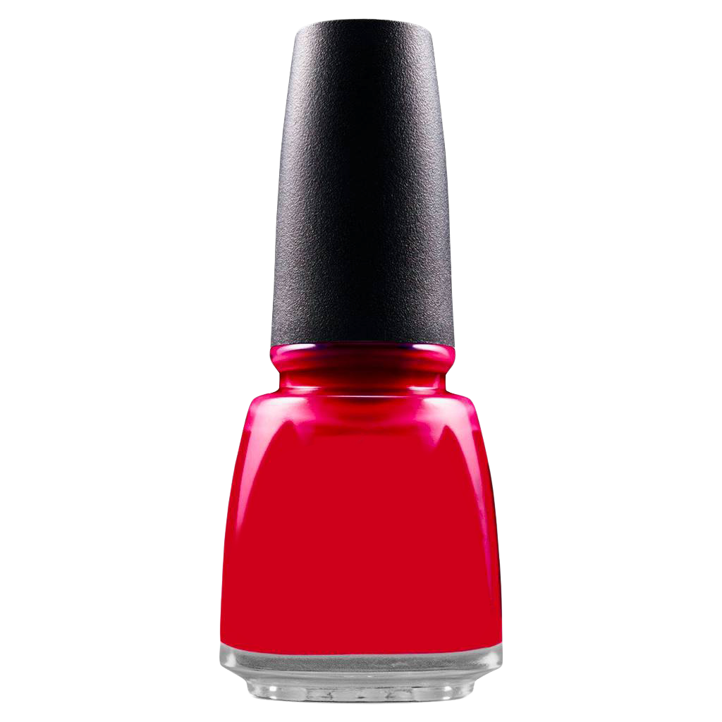 Nail Polish Bottle PNG Image.