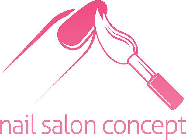 Best Nail Salon Illustrations, Royalty.