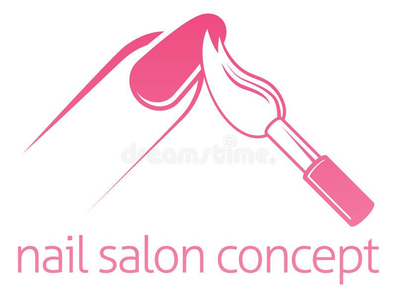 Nail Salon Stock Illustrations.