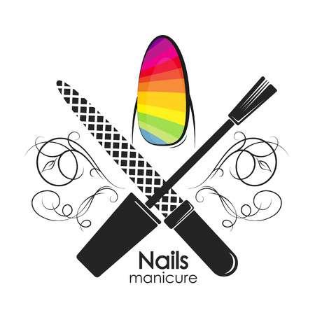 7,307 Nail Salon Stock Vector Illustration And Royalty Free.