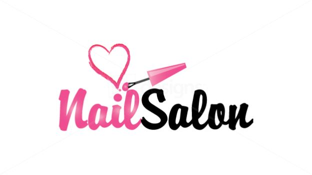 Nail salon Logos.