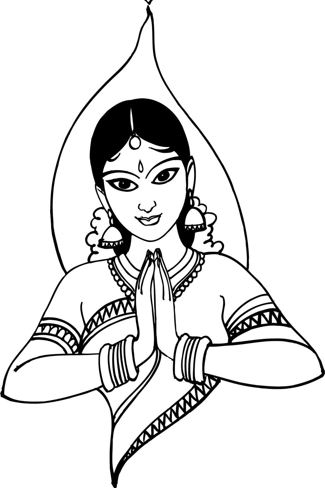 ADPLUS: welcome namaskar hindu clipart.