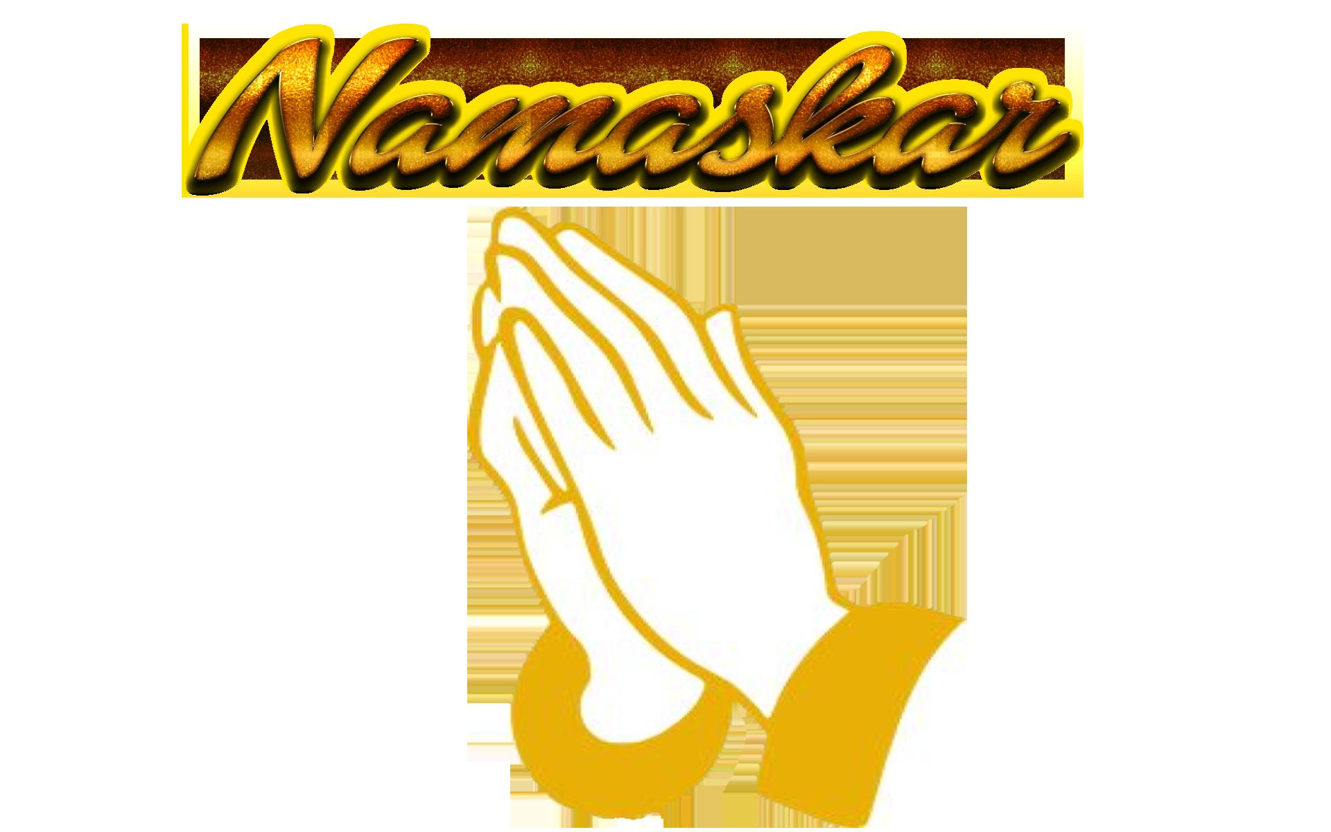 Namaskar PNG Background.