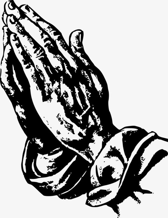 Prayer, Pray, Namaste, Cartoon Hand Drawing PNG Transparent.