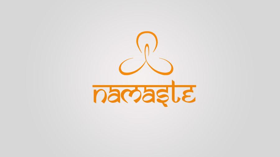 Entry #186 by Karantanda for Namaste logo.