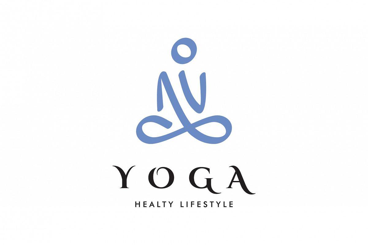 Namaste Yoga Logo.