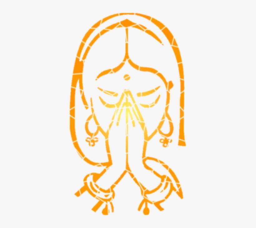 Transparent Welcome Namaste Svg Transparent.