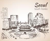 Namdaemun Sungnyemun Stock Illustrations.