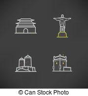 Namdaemun Clip Art Vector and Illustration. 9 Namdaemun clipart.