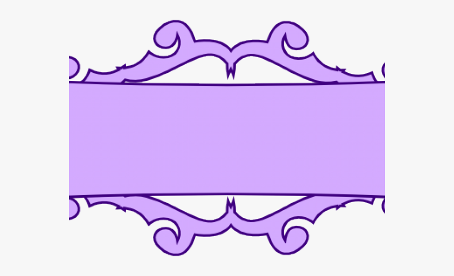 Scroll Clipart Name Banner.