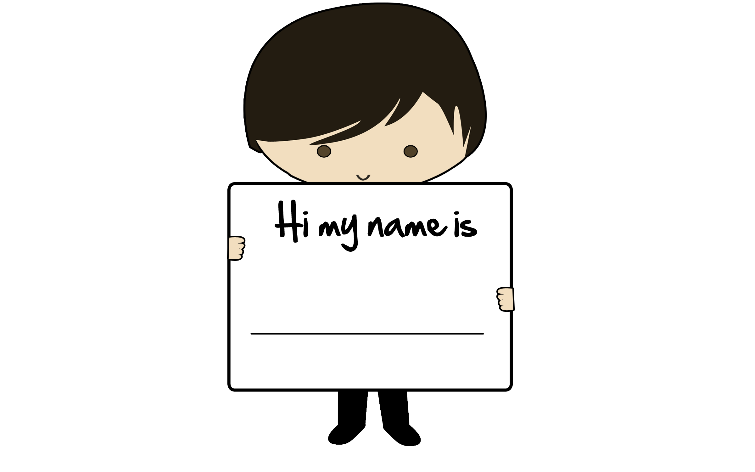 Name clipart name card, Name name card Transparent FREE for.