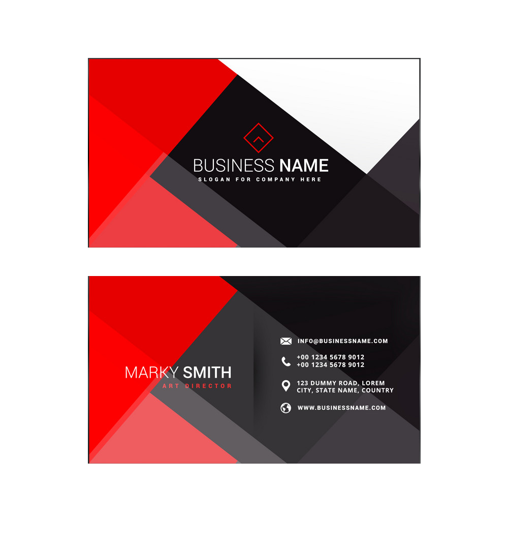 Standard Business Cards.