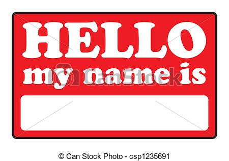 Name Illustrations and Clipart. 54,515 Name royalty free.