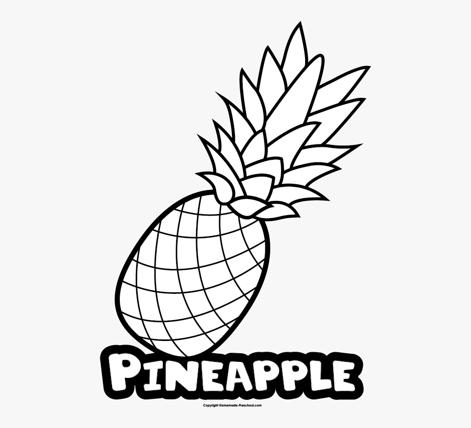 Pineapple Clipart Name.