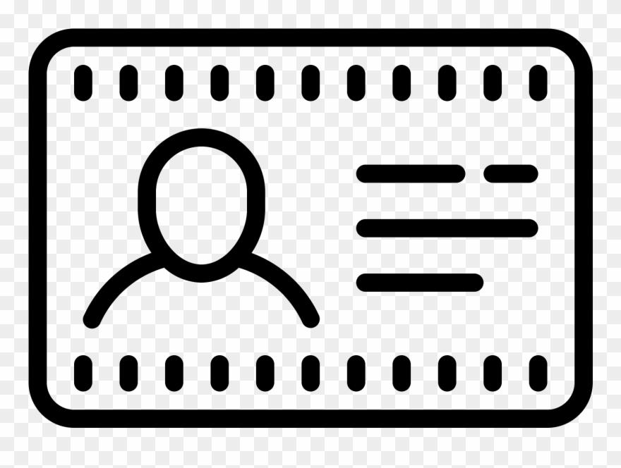 Name Tag Icon.