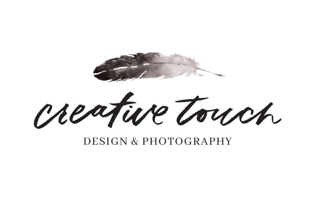Creative Touch Design & Photography gets a new name and logo.