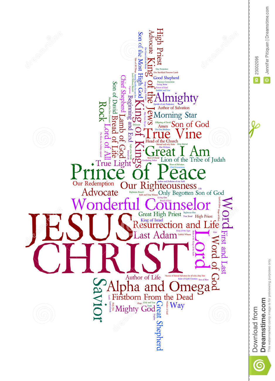 Names Of Jesus Royalty Free Stock Image.