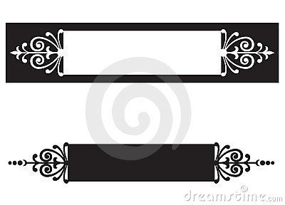Nameplates Stock Illustrations.